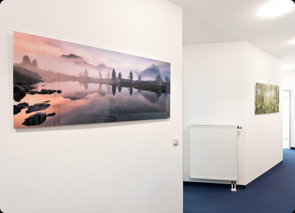 Landschaftsbilder für Praxis & Büro & Kanzlei