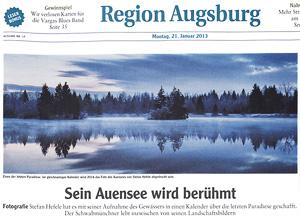 Region Augsburg Auensee